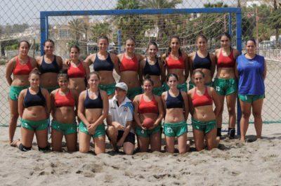 Balonmano Playa Malaga Costa del Sol 2012-2013