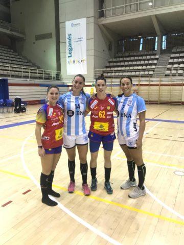 Sole López, Macarena Gandulfo, Emma Boada, Rocio Campigli