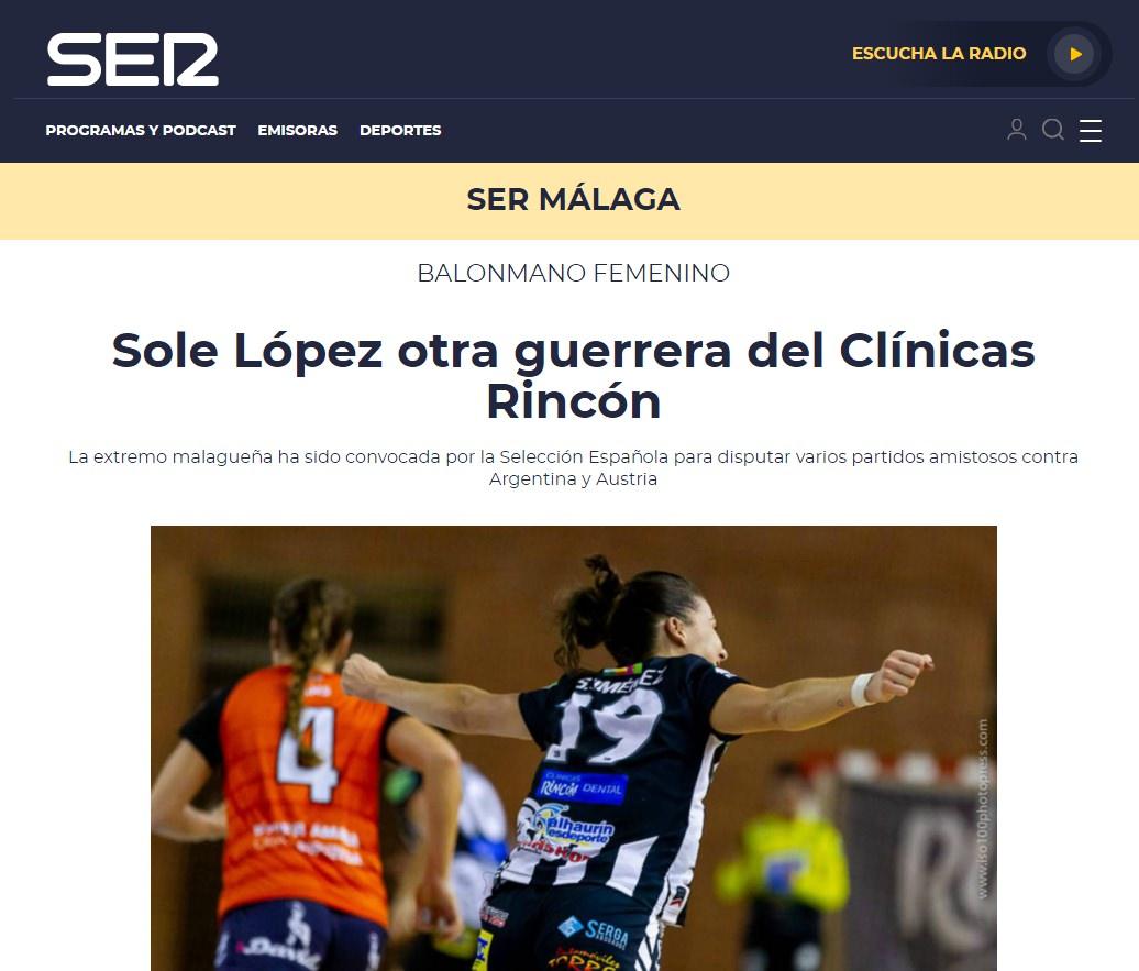 Sole Lopez en la Cadena SER