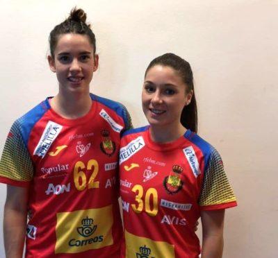 Sole López y Emma Boada selección