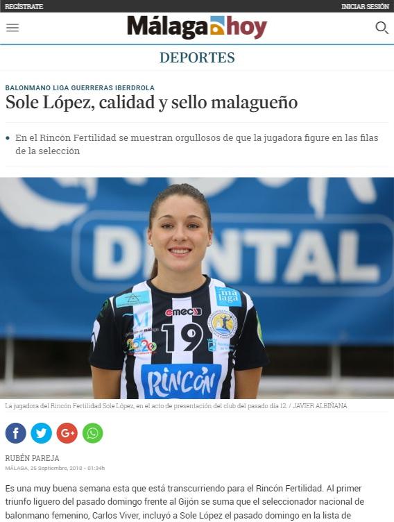 Málaga hoy, Sole López