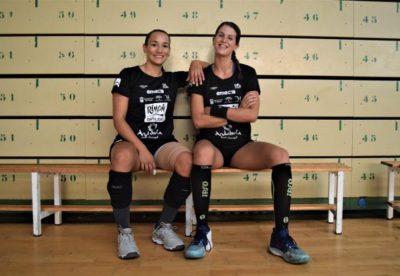 Rocio Campigli y Agustina López en Diario SUR. Marina Rivas