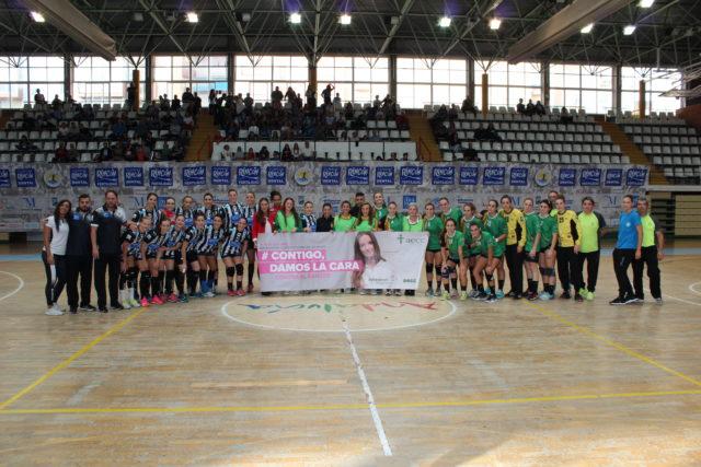 Club Balonmano Femenino Málaga Costa del Sol vs Balonmano Castellón. Liga Iberdrolas 2018-2019