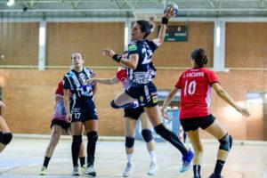 Agustina López. Rincón Fertilidad Málaga vs Club Balonmano Morvedre. Iso100 Photo Press