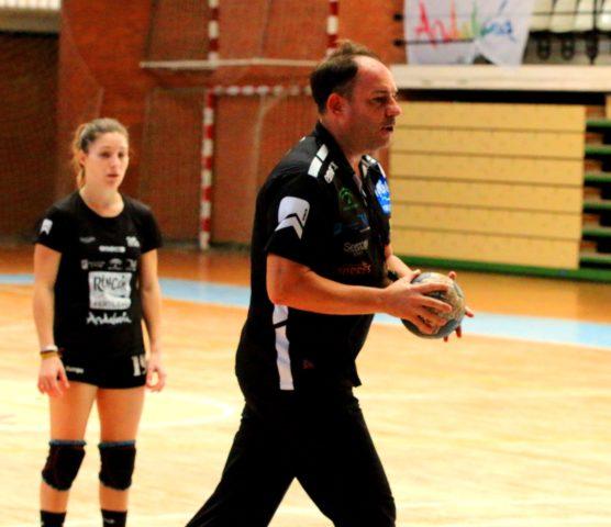 Diego Carrasco en el entrenamiento