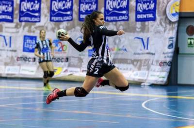 Marina Martín, Rincon Fertilidad Málaga vs Balonmano Zuazo, Liga Guerreras Iberdrola 2018-2019 (c) iso100photopress.com
