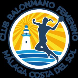 Escudo Club Balonmano Femenino Málaga Costa del Sol OFICIAL (SOBRE FONDO TRANSPARENTE)