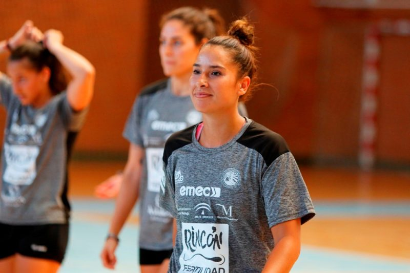 Estela Carrera entrenamiento 1 agosto 2019-2020