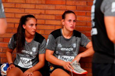 Marina Martín y María Pérez entrenamiento 1 agosto 2019-2020