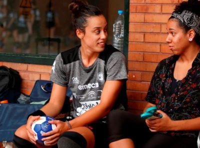 Diva y Paula García entrenamiento 1 agosto 2019-2020