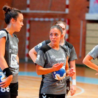 Estela Doiro y Paula García entrenamiento 1 agosto 2019-2020