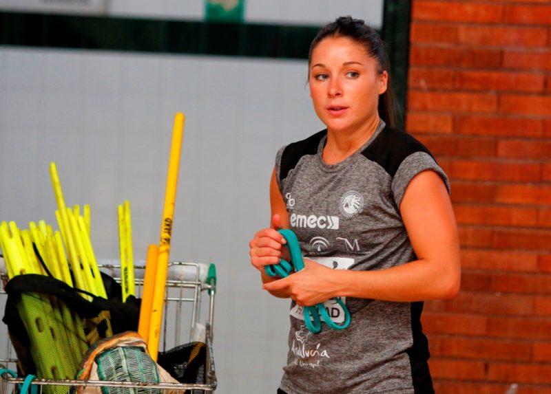 Sole López entrenamiento 1 agosto 2019-2020