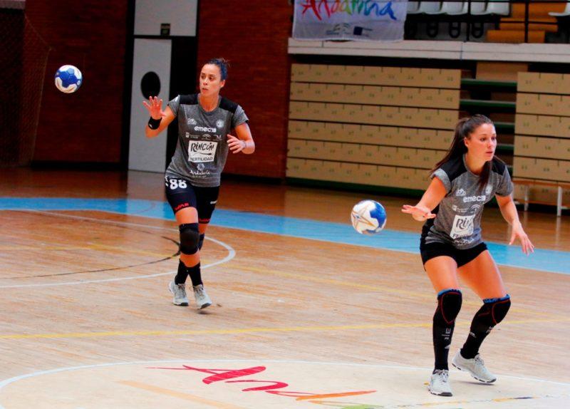 Sole López y Paula García entrenamiento 1 agosto 2019-2020