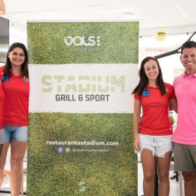 Alice Fernandes, Isaura Menin e Isabelle Medeiros en Vals Sport