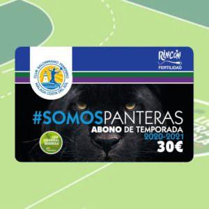 #SOMOSPANTERAS Abono de temporada 2020-2021