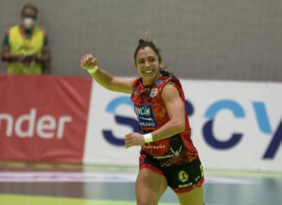 Estela Doiro. Rincon Fertilidad Málaga final. Copa de la Reina 2020