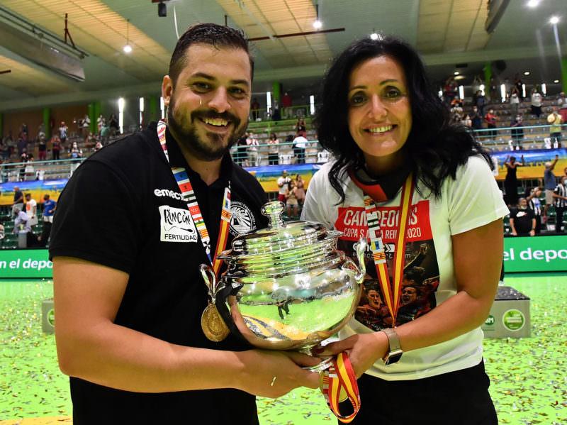 Suso García y Pepa Moreno. Foto de JLR @rfebm.com