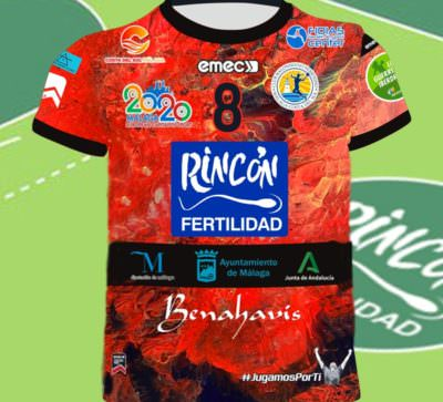 Equipacion Copa de la Reina Club Balonmano Femenino Málaga Costa del Sol