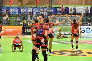 Lanzamiento de penalties de la semifinal Copa de la Reina 2020. Foto RFEBM