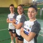 Esperanza López, Silvia Arderius y Estela Doiro. Foto de A. Rubio
