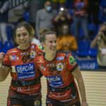 Estela Doiro y Silvia Arderius Celebración Supercopa de España 2020-2021