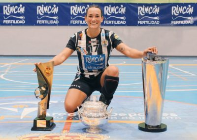 Rocio Campigli tricampeona 2021-2022