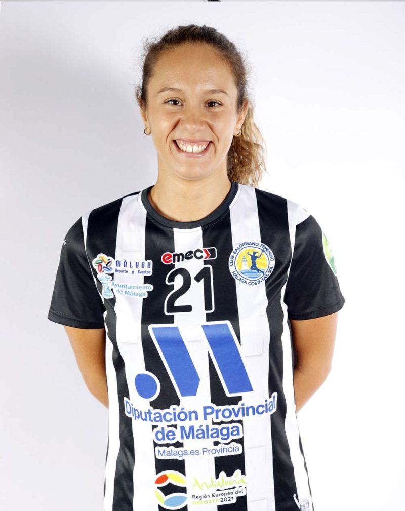 Carla Barranco - 21 - Club Balonmano Femenino Málaga Costa del Sol