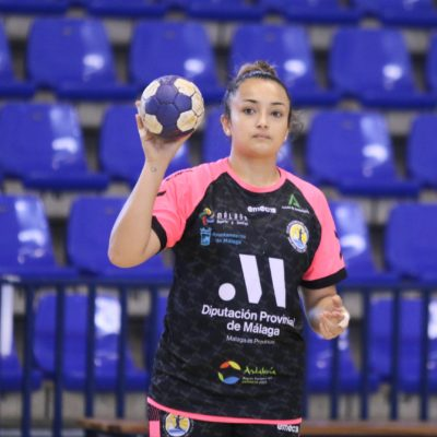 Talita Alves en Ciudad Jardin, Club Balonmano Femenino Málaga Costa del Sol