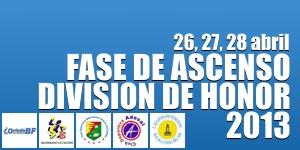 Fase de Ascenso 2013 Division de Honor