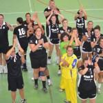X Copa de Andalucía. Saludando tras el partido